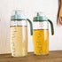 Oil bottle 550ml With Scale Oil Dispenser  With  Lid