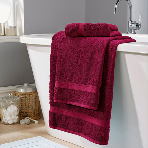 Bath Towel Soft Touch- Maroon