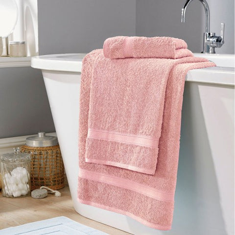 Bath Towel Soft Touch-  pink