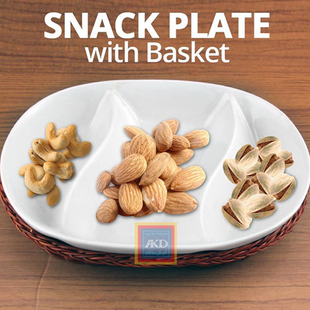 Snack Tray oval
