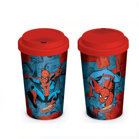 Spider man glass