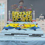Kids Bed sheet  Minion