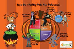 Healthy Halloween My Plate Poster