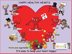 Download: Happy Healthy Hearts Poster
