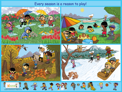 Download: Be Active Every Season Poster