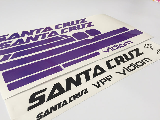 2013 Santacruz Bronson Frame Decal Graphics Kit
