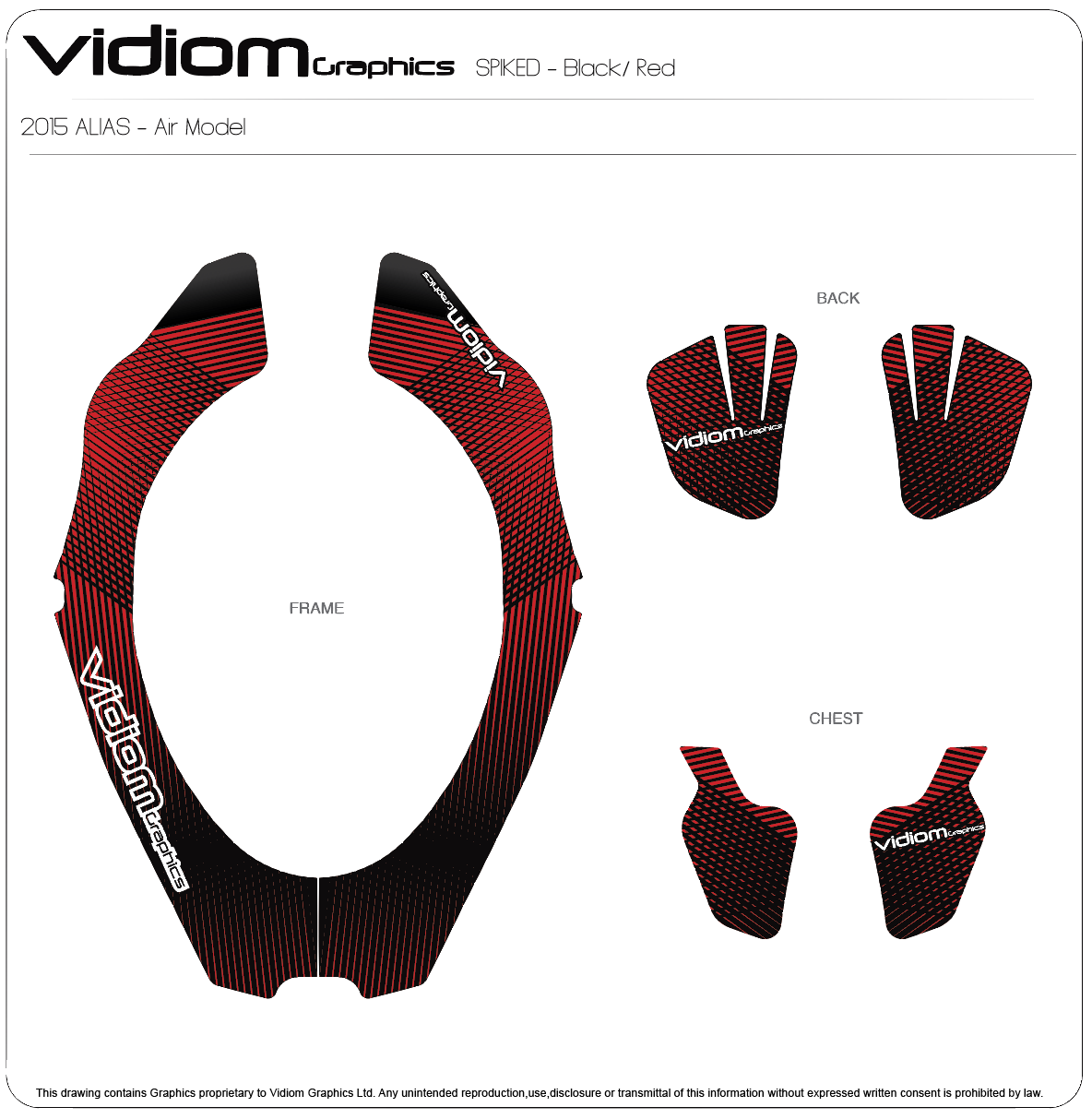 Atlas Neck Brace Spiked Decal