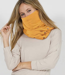 Face mask Scarf mask Adjustable snaps