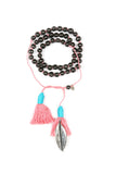 Mamapacha Black with Light Pink Tassel