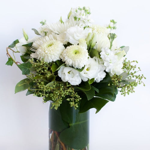White Bouquet Sunshine Coast ~ Vanilla Dreams
