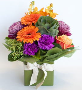 Bright Box delivered Sunshine Coast ~ Florist Selection