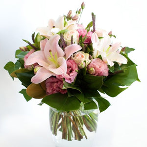 Pink Flowers Delivered Sunshine Coast ~ Strawberry Kisses