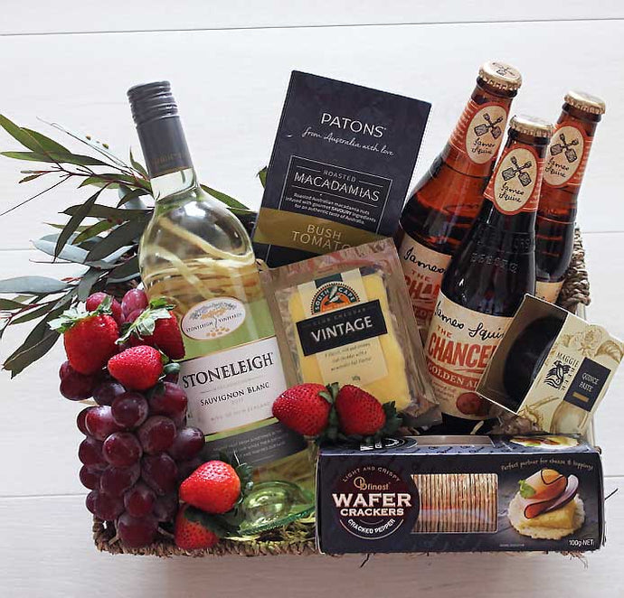 Mr & Mrs Foodie Gift Hamper Delivery Sunshine Coast