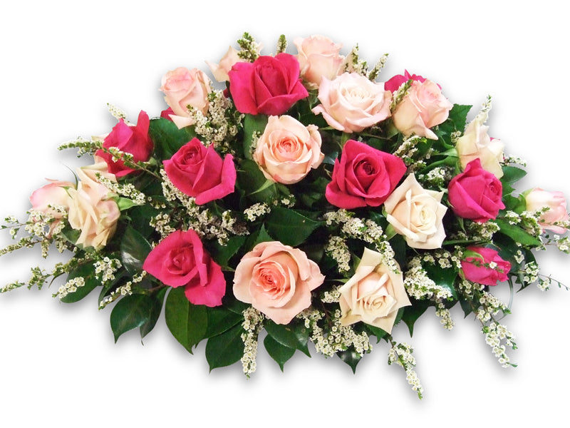 Roses Casket Spray Sunshine Coast