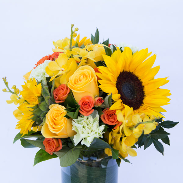 Yellow Flowers Delivery - Floral Arrangements Sunshine Coast