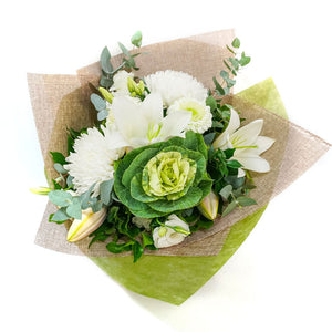 Snowflake Bouquet Delivery - Floral Arrangements - Plant & Flower Gift Sunshine Coast