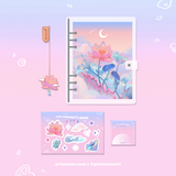 One Summer's Moon Stationery Set