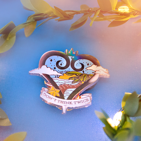 [KH] Destiny Islands Enamel Pin