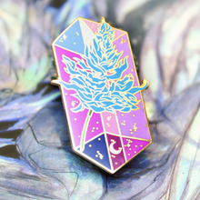 Load image into Gallery viewer, [FF] Sylleblossom Crystal Enamel Pin