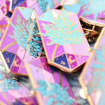 [FF] Sylleblossom Crystal Enamel Pin -Final Stock-