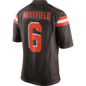 Baker Mayfield Cleveland Browns Game Jersey - Brown