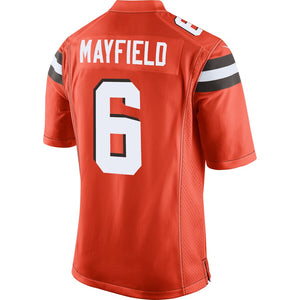 Baker Mayfield Cleveland Browns Game Jersey - Orange