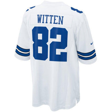Jason Witten Dallas Cowboys Game Jersey - White
