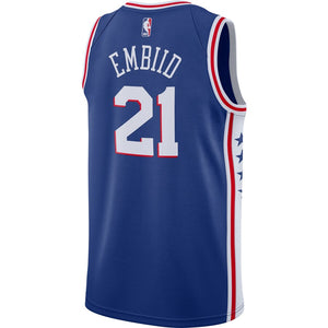 Joel Embiid Philadelphia 76ers Royal Swingman Jersey - Icon Edition