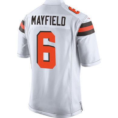 Baker Mayfield Cleveland Browns Game Jersey - White