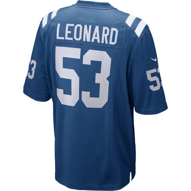 Darius Leonard Indianapolis Colts Player Game Jersey - Royal