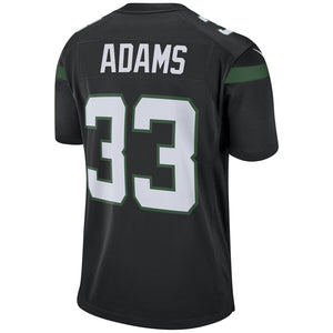 Jamal Adams New York Jets Game Jersey - Stealth Black