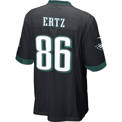 Zach Ertz Philadelphia Eagles Alternate Game Jersey - Black