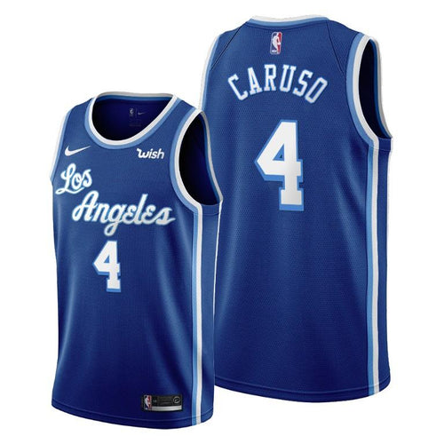 Alex Caruso Los Angeles Lakers 2019-20 Classic Edition Blue Jersey