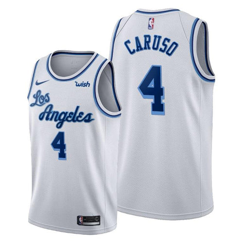 Alex Caruso Los Angeles Lakers 2019-20 Classic Edition White Jersey