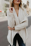 Autumn New Sweater Fashion Long-Sleeved Jacket beige s