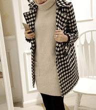 Autumn And Winter Fashion Thousand Birds Style Coat
