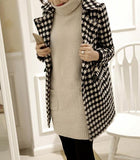Autumn And Winter   Fashion Thousand Birds Style Coat Same As Photo s