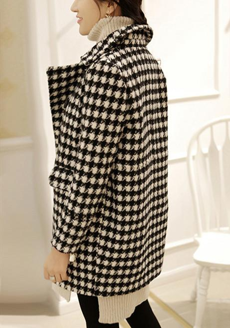 Autumn And Winter   Fashion Thousand Birds Style Coat Same As Photo xl