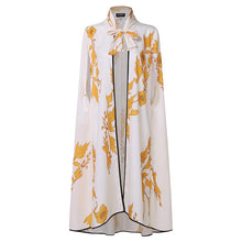 Women Vintage Floral Printed Loose Sleeveless Shawl