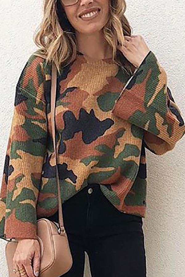 Wild Hedging Camouflage Corduroy Top camouflage s