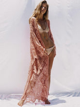 Bohemia Belted Lace Cover-ups Swimwear