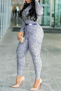 Roaso Sexy Hollowed-out  Jumpsuit L Multi