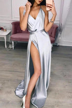 Sexy Strap Floor Length Dress (With Belt)