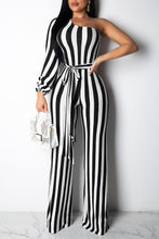 Casual Dew Shoulder Jumpsuit (With Belt)