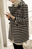 Autumn And Winter   Fashion Thousand Birds Style Coat Same As Photo 2xl