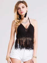 Bohemia Tasseled Condole Belt Bralette Top