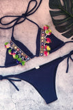 Ethnic Style Split Bikini Swimsuit same as photo s