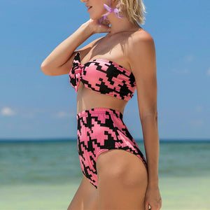Sexy Elegant Printed Bikini Set Swimwear watermelon_red xl