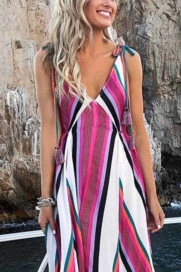 Elegant Fashion Floral Print Maxi Dress same as photo l