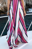 Elegant Fashion Floral Print Maxi Dress same as photo xl